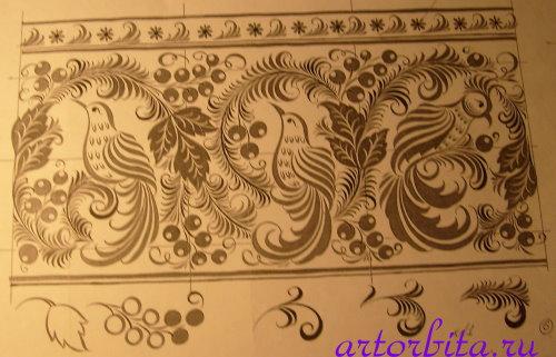Рисунки на ногтях для